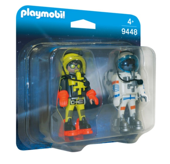 Playmobil 9448 Space Duo Pack Space Heroes