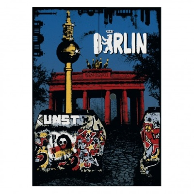 Herlitz Dokumententasche easy ergo to go City Trip Berlin