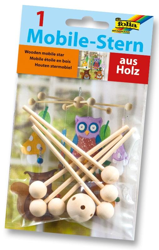 Folia Mobile-Stern Holz
