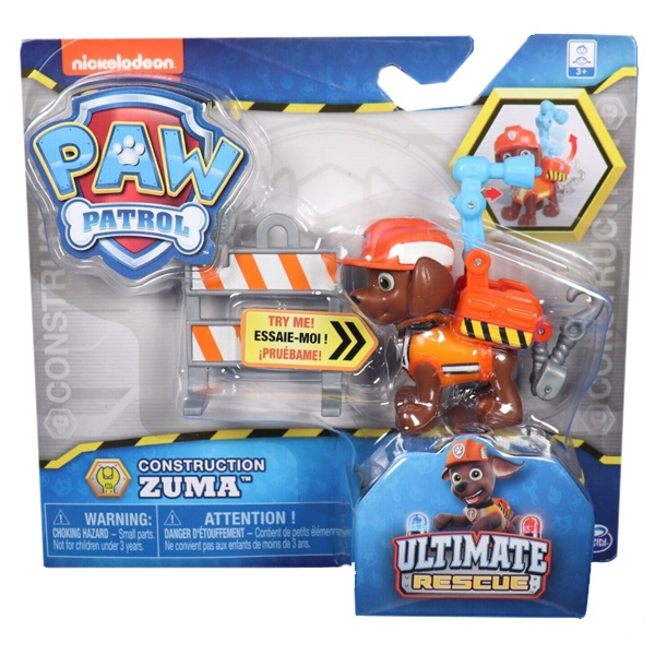 Paw Patrol Construction Zuma Ultimate Rescue