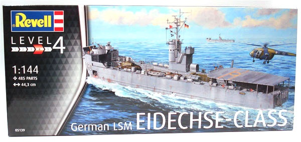 Revell 05139 Eidechse-Class German LSM 1:144