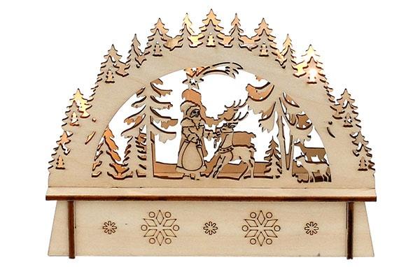 Schwibbogen Winterwald