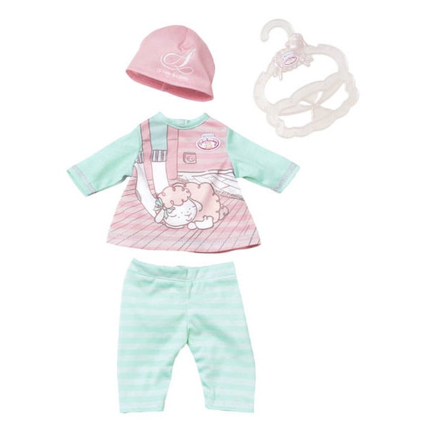 My First Baby Annabell Baby Outfit, rosa Mütze