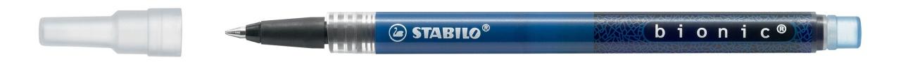 Stabilo bionic Nachfüllmine für Tintenroller M blau