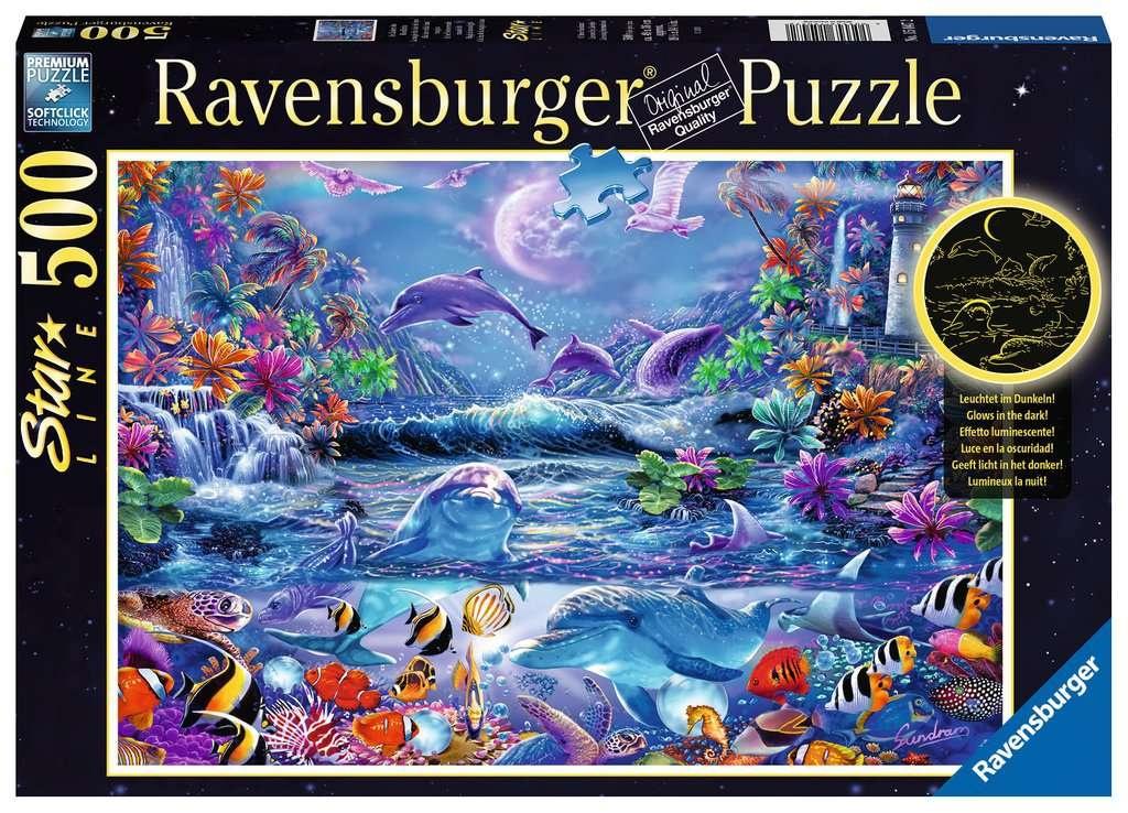 Ravensburger Puzzle Im Zauber des Mondlichts 500 Teile