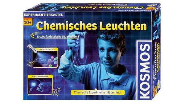 Experimentierkasten Chemisches Leuchten von Kosmos