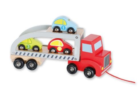 Holz-Autotransporter