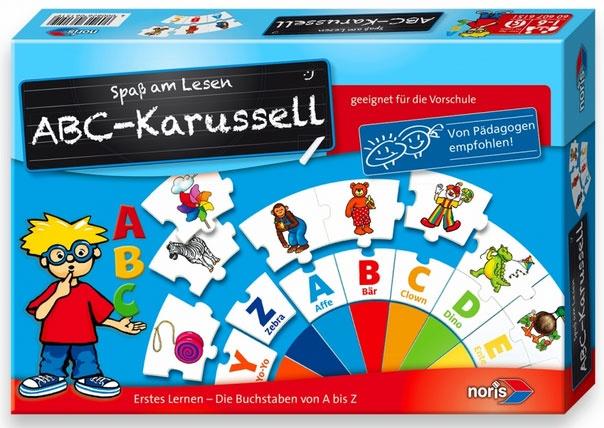ABC-Karussell Lernspiel von Noris-Spiele