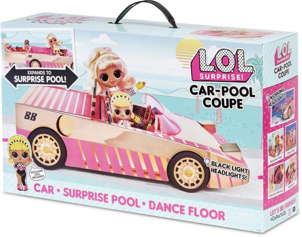 L.O.L. Surprise Car-Pool Coupe Auto Cabrio LOL