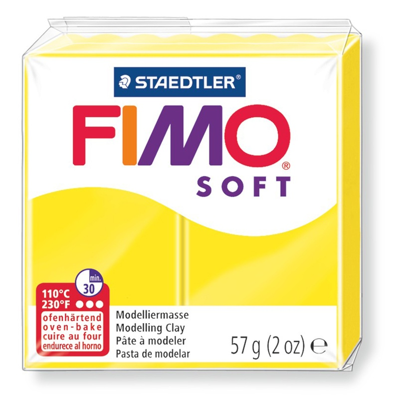 Staedtler Modelliermasse Fimo soft 57 g limone