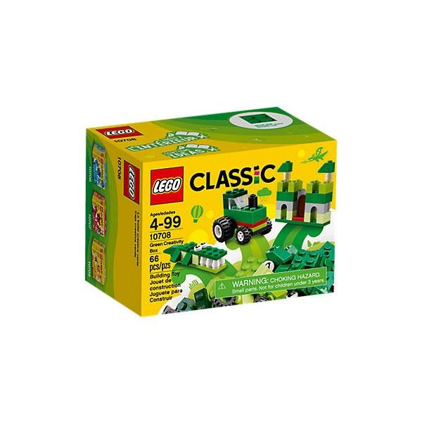 Lego Classic 10708 Kreativ-Box grün