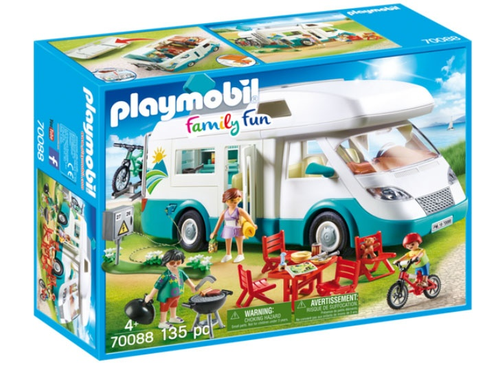 Playmobil 70088 Family Fun Familien Wohnmobil