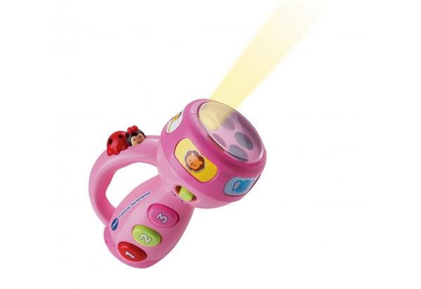 vtech Baby Fröhliche Taschenlampe pink