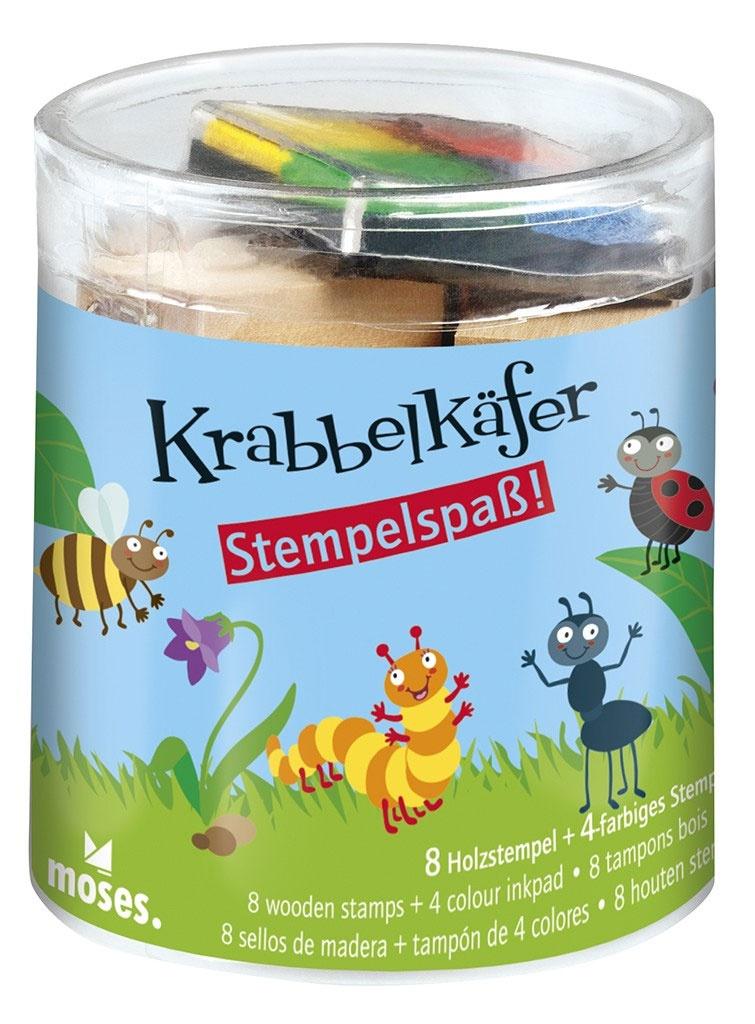 Krabbelkäfer Stempel