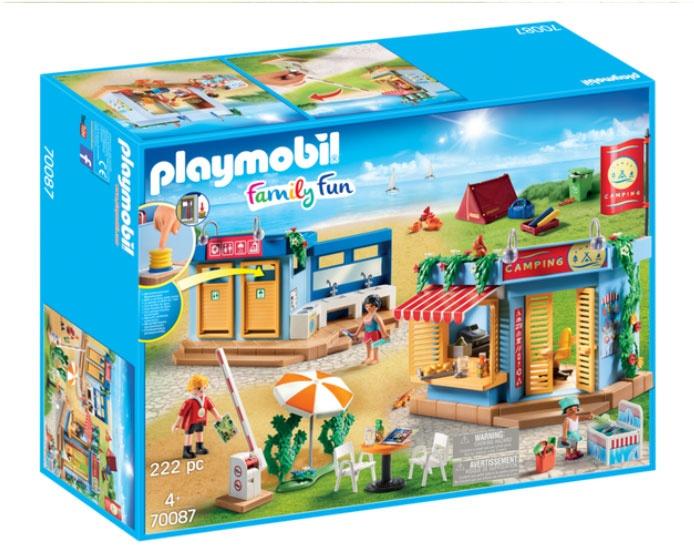 Playmobil 70087 Family Fun Großer Campingplatz