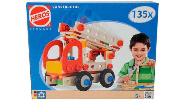 Feuerwehr Constructor 135-tlg. von Eichhorn-Heros