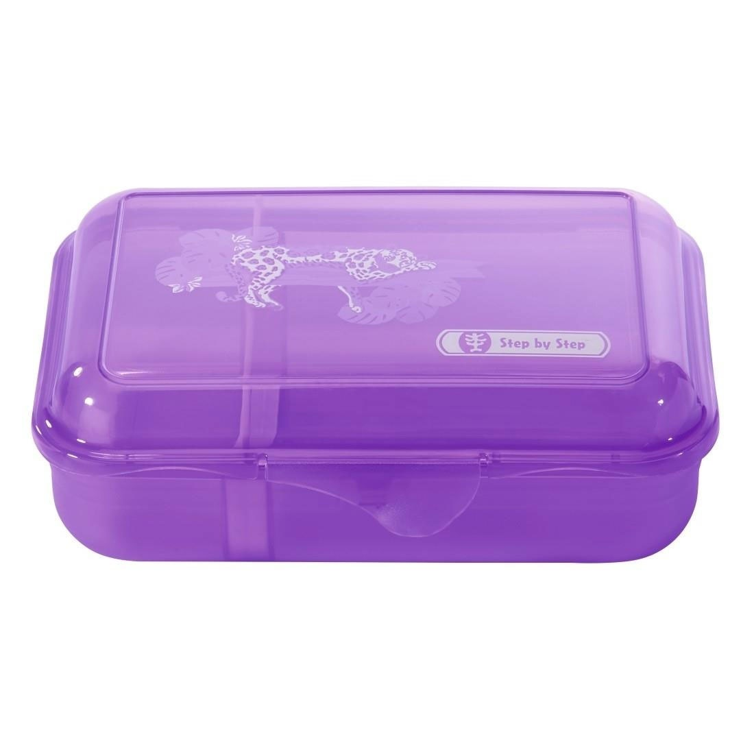 Step by Step Jungle Cat Lunchbox lila