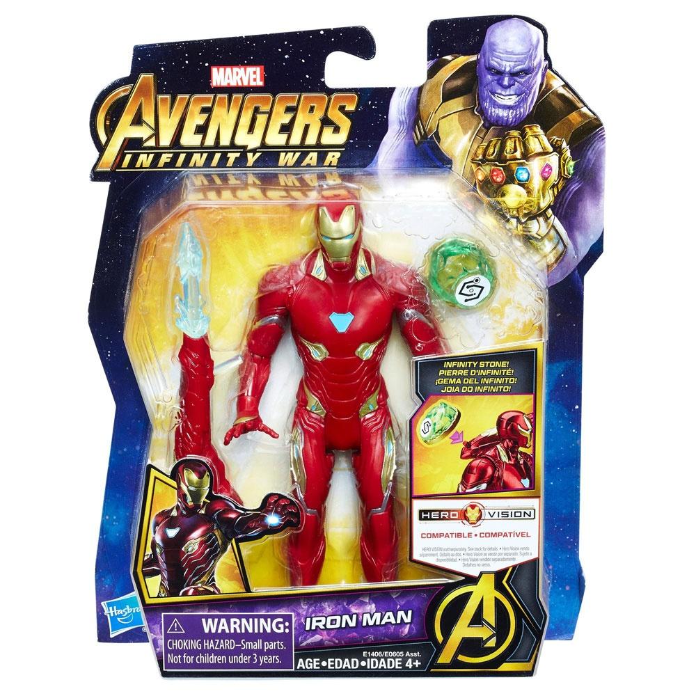 Avengers Figur mit Infinity Stein Iron Man