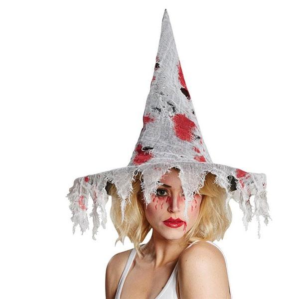 Kostüm-Zubehör Hexenhut Blut