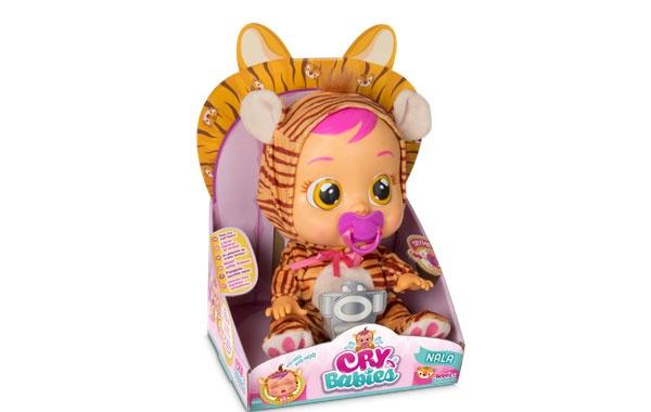 Cry Babies Nala Tiger kann schreien Schreibaby