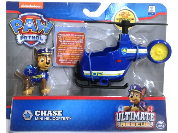 Paw Patrol Ultimative Rescue Vehicle Chase Mini Helicopter