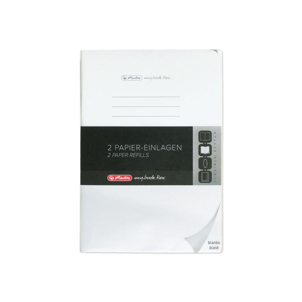 Papier-Ersatzeinlagen A4 blanko