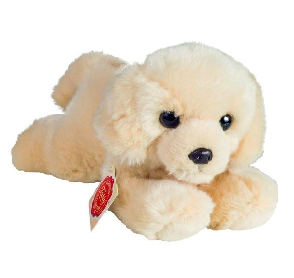 Teddy Hermann Labradorwelpe liegend 21 cm