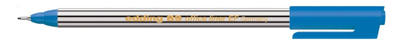 Edding 89 office liner EF Fineliner blau