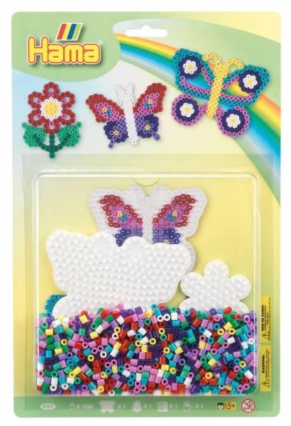 Hama Bügelperlen-Set Schmetterling