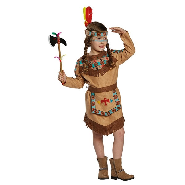 Kostüm Indianerin 164