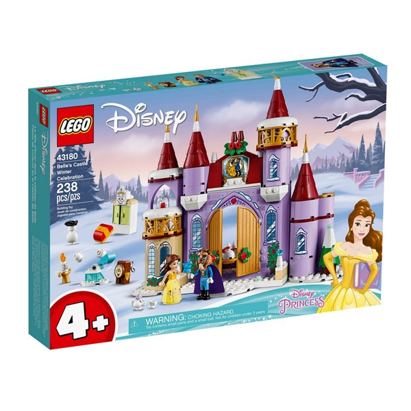 Lego Disney Princess 43180 Belles winterliches Schloss