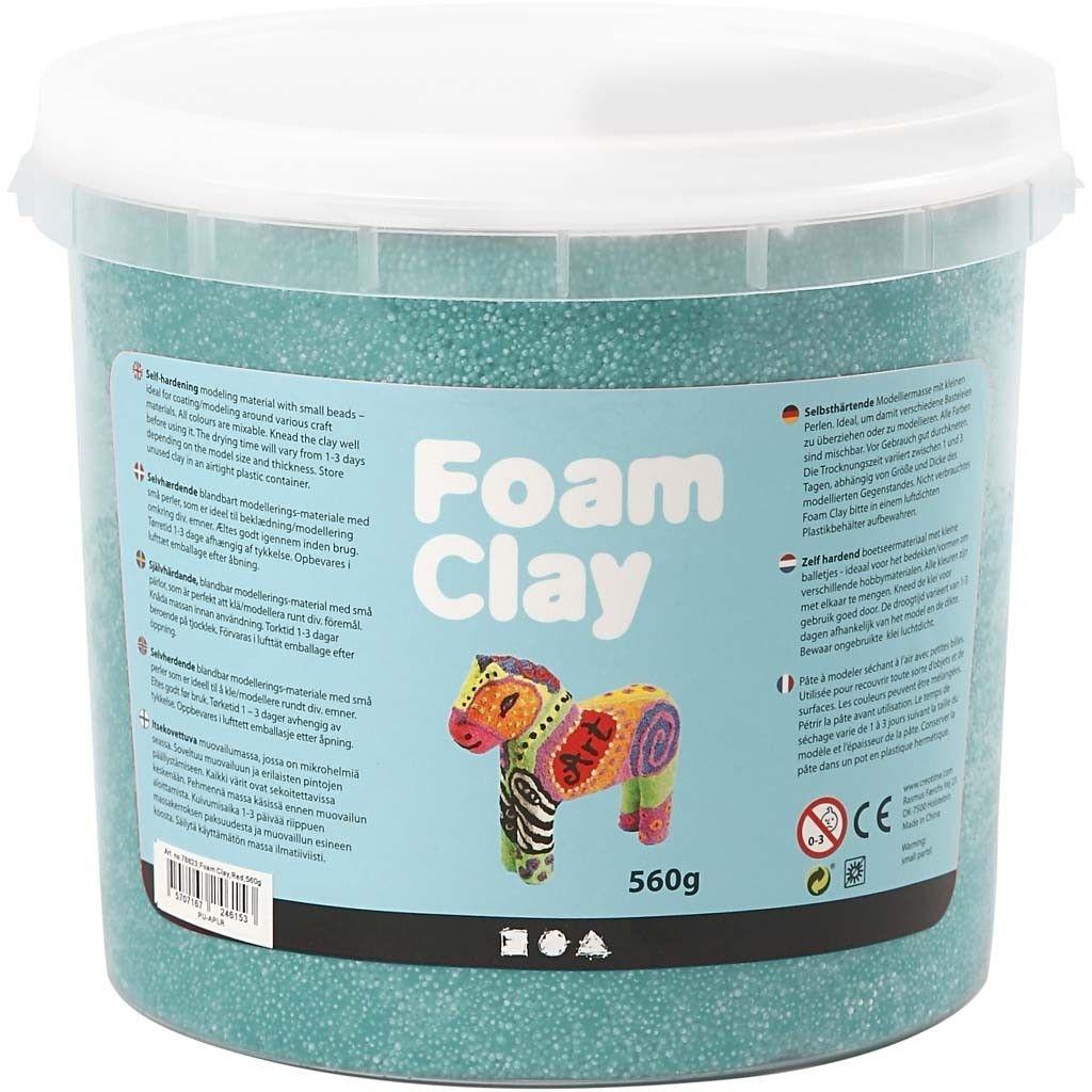 Foam Clay dunkelgrün 560 g