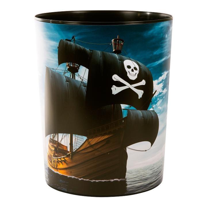 Goldbuch Papierkorb Piraten