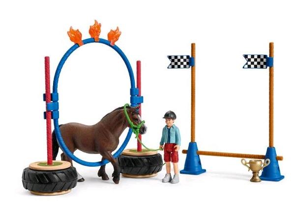 Schleich Pony Agility Rennen 42482