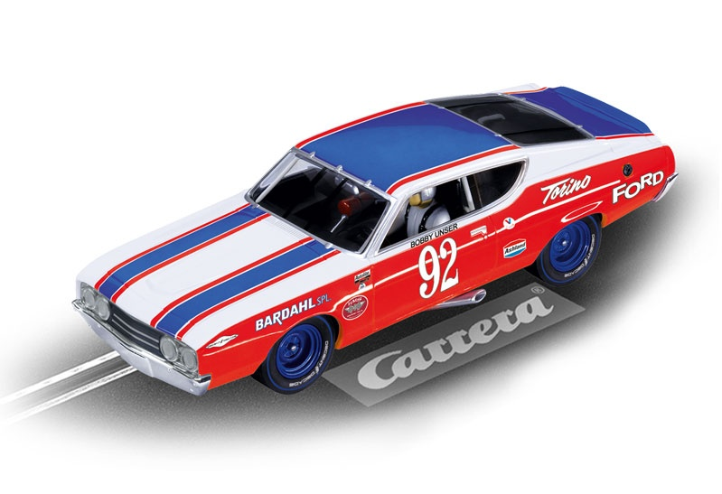 Carrera Digital 132 Ford Torino Talladega Bobby User No. 92