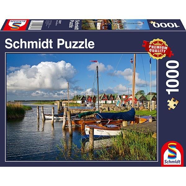 Schmidt Spiele Puzzle Hafen Althagen Ostseebad Ahrenshoop
