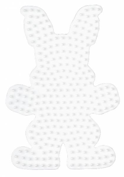 Hama Bügelperlen Stiftplatte Häschen