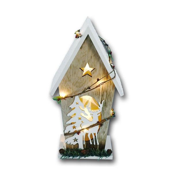 LED Leuchthaus 3D-Effekt