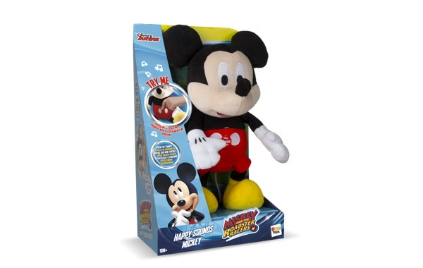 Mickey Mouse Micky lacht Plüsch mit Sound