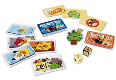 Mattel Angry Birds Kartenspiel