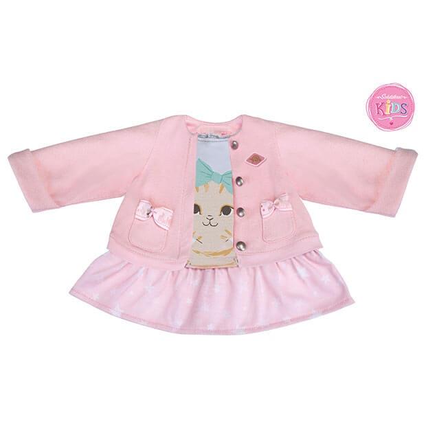 Schildkröt Kids Kleid mit Jacke Kätzchen