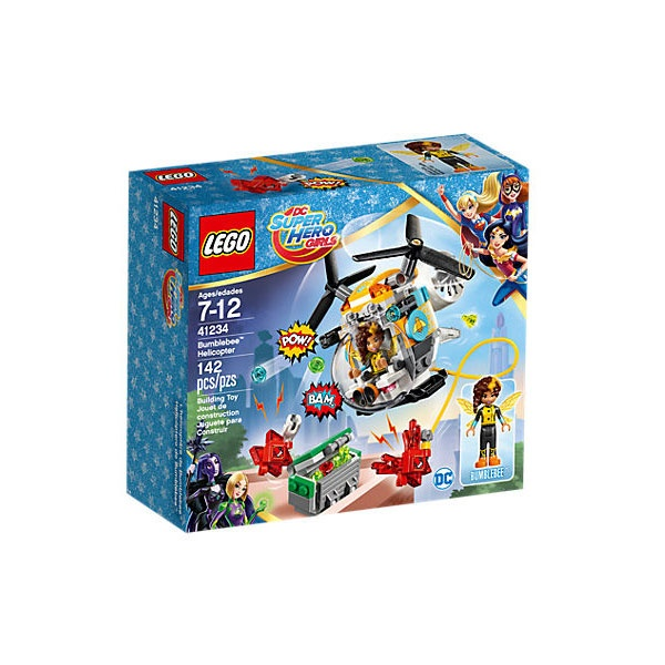Lego 41234 DC Super Hero Girls Bumblebees  Hubschrauber