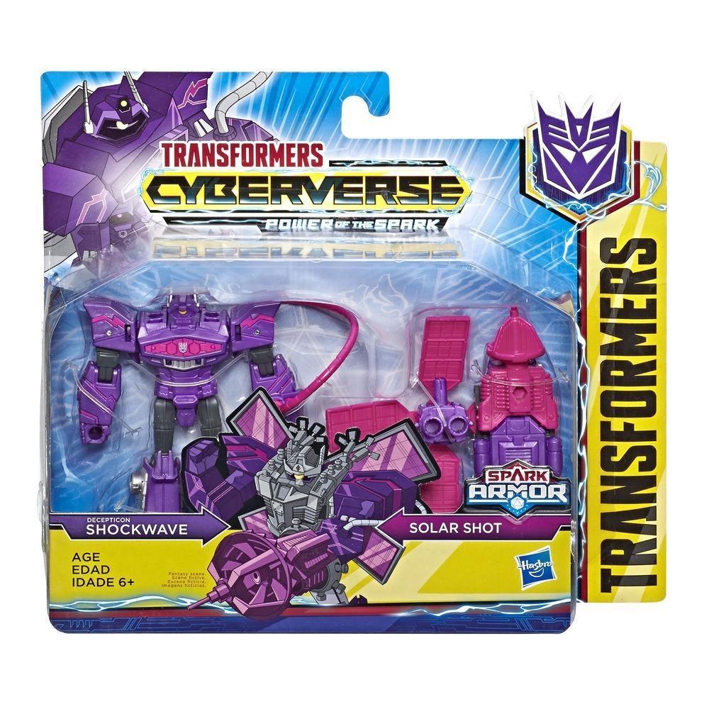 Transformers Cyberverse Shockwave und Solar Shot