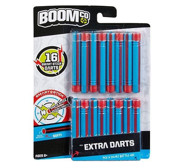BOOMco Dart blau/rot gestreift 16x