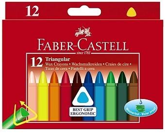 Faber Castell Wachsmalstifte dreieckig