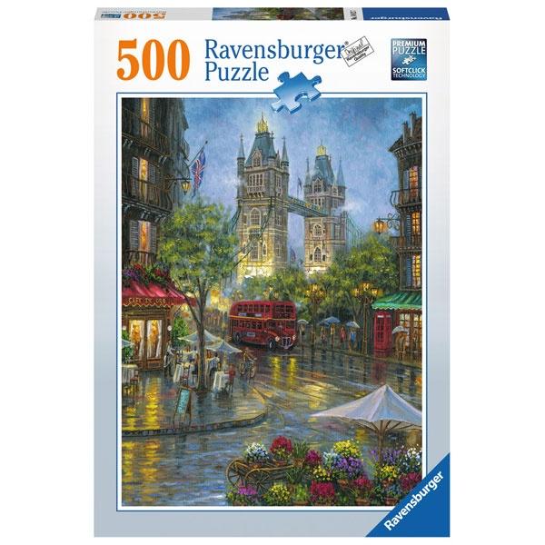 Puzzle Malerisches London 500 Teile von Ravensburger