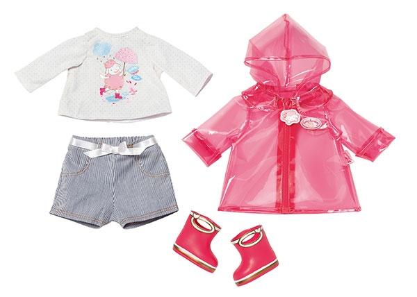 Zapf Creation Baby Annabell Deluxe Regenspass Kleidung