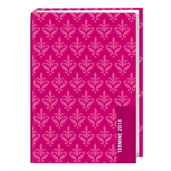 Taschenkalender pink Tapete 2018 von Heye