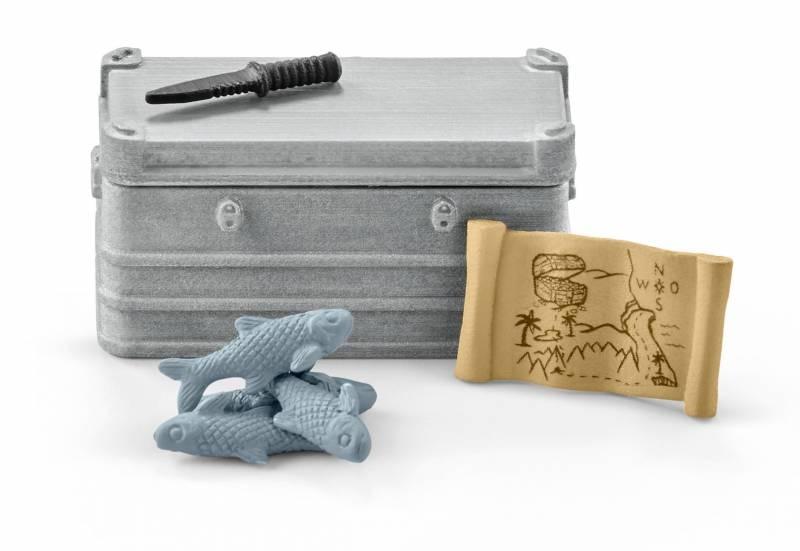 Schleich Wild Life Bootsausrüstung 42357