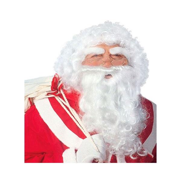 Kostüm-Zubehör Weihnachtsmannperücke